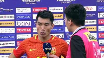 郑智:踢出了赛前部署 结果不是我们想要的