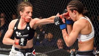 乔安娜备战UFC211 冲击罗西冠军连胜记录