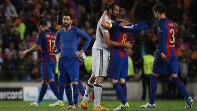 欧冠-MSN屡失良机夸刀险破门 巴萨0-0尤文总分0-3出局