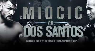 UFC211头条大战 米奥奇VS桑托斯