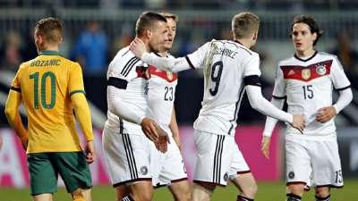 罗伊斯破僵波尔蒂救主 2年前德国2-2险平澳大利亚