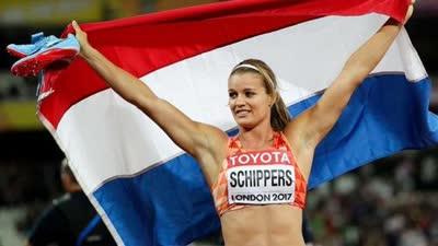 荷兰女飞人200米实现卫冕 巴哈马选手米勒摘铜