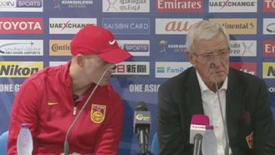 里皮:足球世界一切皆有可能 中国队现已着眼未来