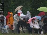 一练最后雨水降临铃鹿 车手们驶入维修区提前收工