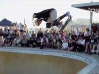 EDGE澳大利亚碗池赛 少年滑手技巧出众闪耀全场