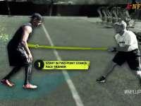 橄榄球身体训练课 变向切入也有大名堂