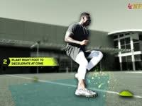 橄榄球身体训练课 急速转身必备脚步大揭秘