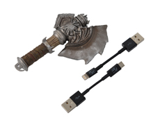 杜隆坦战斧充电线收纳器(含充电线)