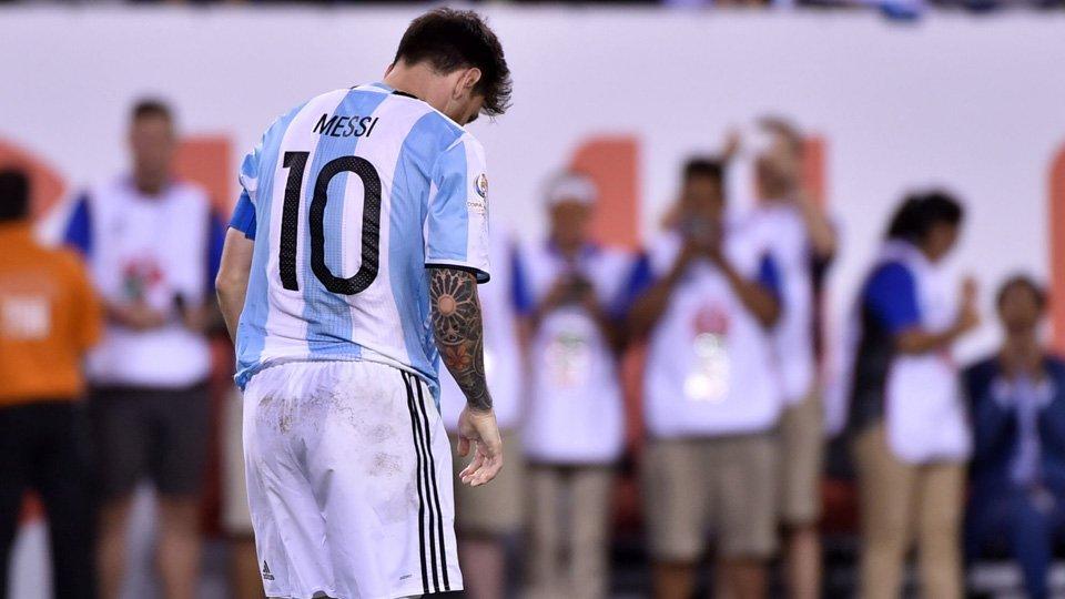梅西宣布退出国家队-再输决赛心灰意冷