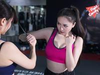 《Fight Candy》第35期:爆乳美女防身术之应对刀具攻击
