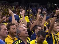 黄色海洋!实拍费内巴切球迷人山人海涌向球馆