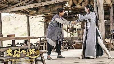 《大话西游3》爆笑版预告 韩庚、唐嫣化身欢喜冤家