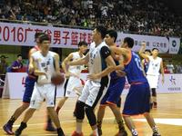 (全场录播)2016广东省男子篮球联赛揭幕战 河源97-95清远
