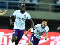中超-迪亚涅1V3破门 泰达1-0送苏宁中超赛季首败