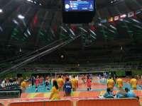 出场嗨爆激情四射 直击奥运中国女排对阵意大利