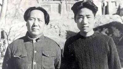 毛泽东与毛岸英的父子情 毛岸英新婚燕尔奔赴前线
