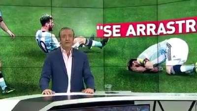 阿根廷媒体再次甩锅给梅西 西媒反驳看不下去【中字】