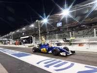 F1阿布扎比站FP2集锦:科维亚特又爆一胎