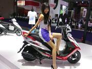 【摸摸爱摩托】2016中国国际摩托车博览会车模花絮