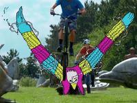 当自行车遇到动画 一场想象力的盛宴开启!