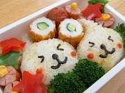 日本可爱便当大比拼 萌到你舍不得吃