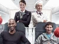 在飞机上同时偶遇梅西科比 你会怎么做?