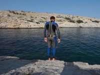 新玩法 炫出新高度 你见过海底攀岩么?