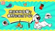 想给狗狗加餐?食材你挑对了吗?