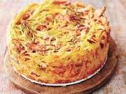 意面新吃法 :Carbonara烤面条加干酪沙司