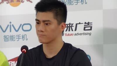 傅海峰:我6岁开始打羽毛球 已习惯高压状态