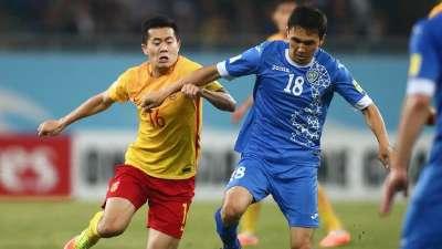 12强赛 乌兹别克斯坦VS中国 全场录播