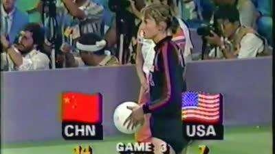 女排荣耀回顾 1984年奥运会中国队战胜美国队夺冠