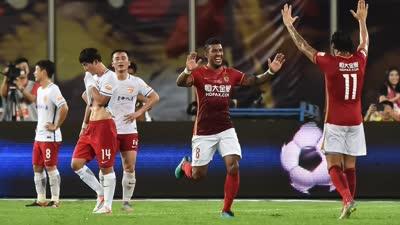 中超-保利尼奥破门 恒大主场1-1富德提前2轮登顶
