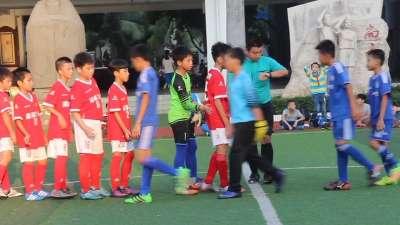 海口市校园足球联赛 滨海第九小学vs海南省农垦直属第三小学