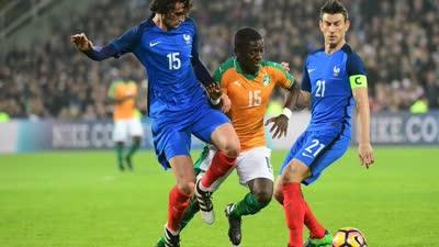 录播-法国 VS 科特迪瓦(刘腾) 2016国际足球友谊赛