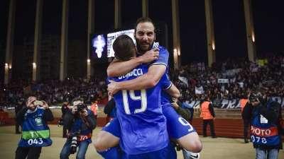 欧冠-伊瓜因双响阿尔维斯两助攻 尤文2-0客胜摩纳哥