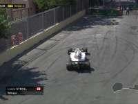 斯托尔赛车冲进缓冲区 伴随事故三练格子旗摇下