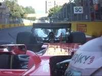 汉密尔顿突然减速刹车遭追尾 维特尔抽头撞向小汉