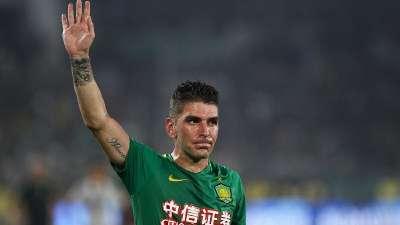 【进球GIF】索里亚诺制造点球亲自主罚命中 国安1-0