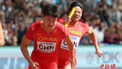 苏炳添加速被东道主英国打到头 中国队放弃申诉