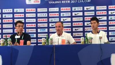 胡安:我的队员们都尽力了 满意球队的表现