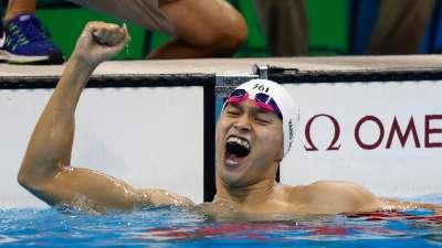 中国游泳史上第一天才 孙杨:争议和金牌一样多