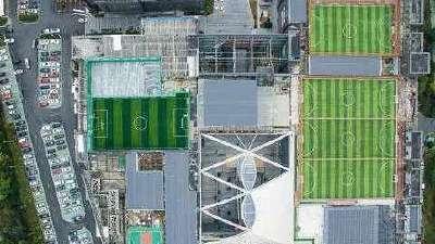 绿城降级球迷依旧狂热 30多名球迷重酬盖空中球场