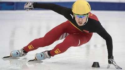 亚冬会短道速滑500米 中国包揽男女两块金牌