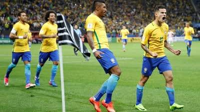 比赛报告-暴力鸟2助攻内少破门 巴西3-0巴拉圭