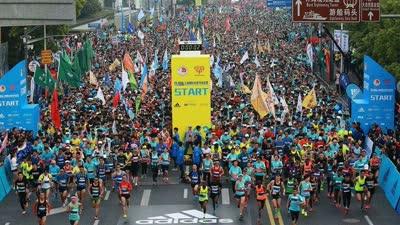 上海半程马拉松赛事路线图发布 东方体育大厦终点