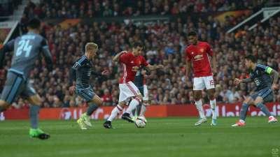 比赛报告-曼联总分2-1晋级 费莱尼入红魔赛季百球