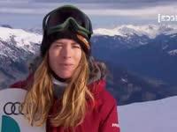 单板滑雪激情四射 大咖云集受访