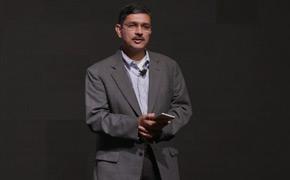 乐视美国工程部副总裁Ramesh Rao发言