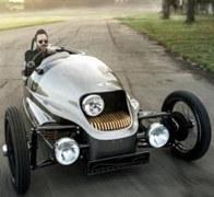 摩根限量版纯电动车